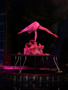Contortionists at Circus